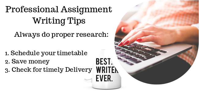 Professional assignment writing